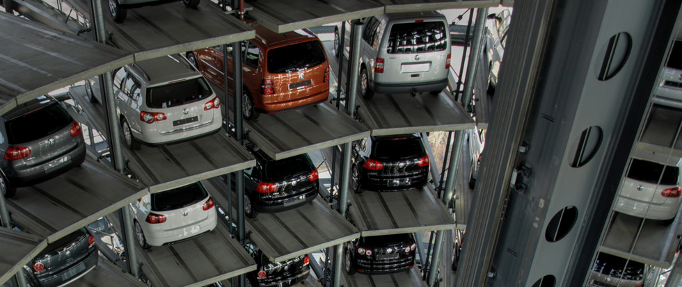Automated multi-storey car parks