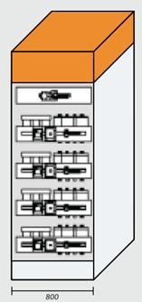 Дросселируемый шкаф 400кВар