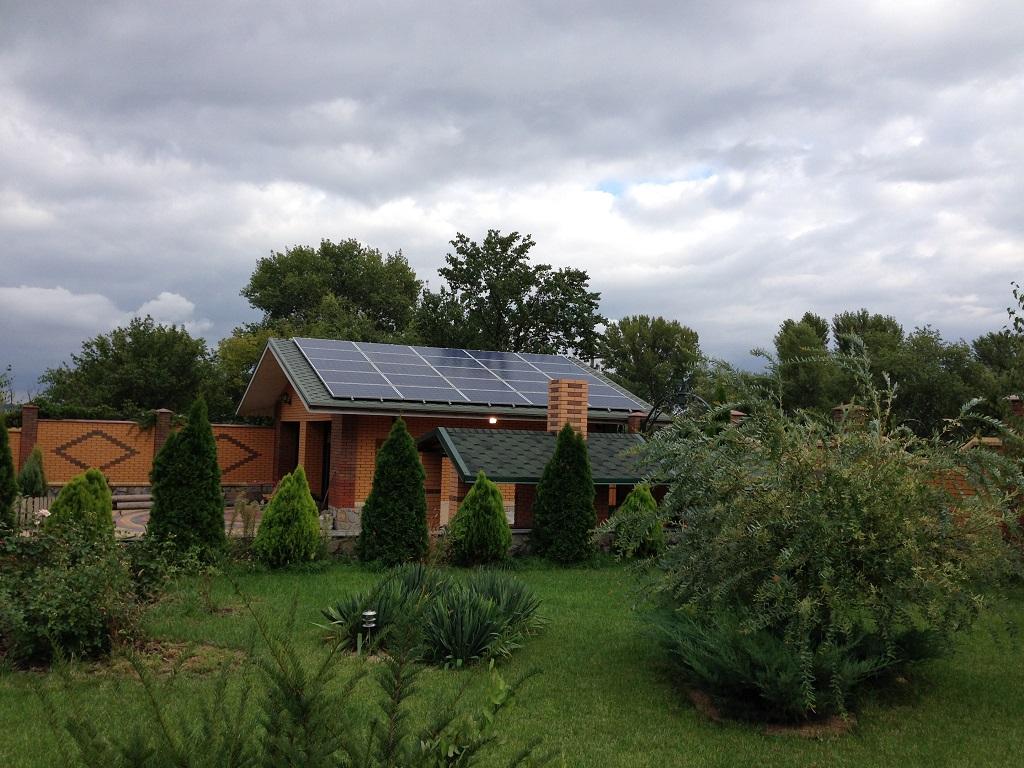Солнечные панели (пример реализации)