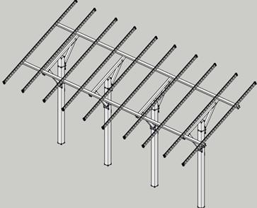 Конструктивное решение стринг-стола