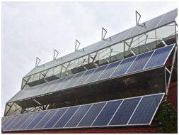 Solar station office
