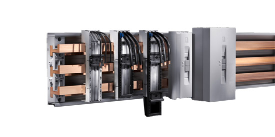 Шинная система Rittal серии RiLine60 Plus