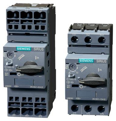 Aвтоматический выключатель SIRIUS Innovations 3RV2 до 40А