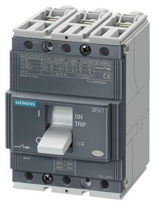 Kомпактный автоматический выключатель SIRIUS 3RV1 до 800А
