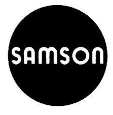 Регулирующая, отсечная и запорно-регулирующая арматура Samson