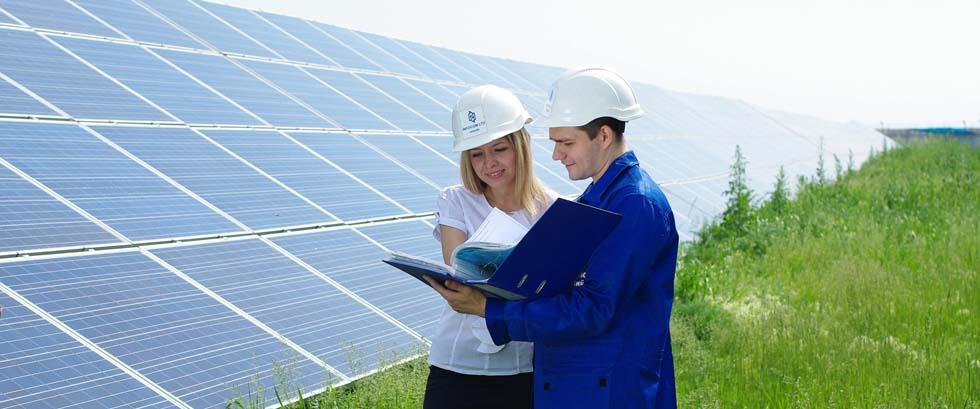 Солнечная электростанция : проектирование, введение в эксплуатацию