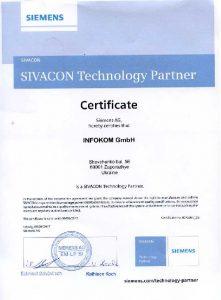 Certificate-SIVACON-2017